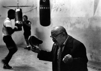 Roma, Associazione Sportiva Audace. Uno dei maestri, il romagnolo Tagliatti, campione italiano ai suoi tempi dei pesi mosca.