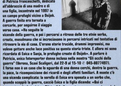Carnet, 9 september 2000