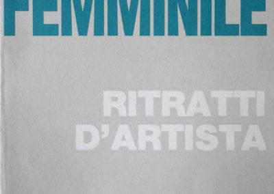 """Scultura al femminile, Galleria """"La Subbia"""", Lido di Camaiore, 1990"""